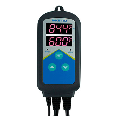 Programmable controller and display of aquarium temperature controller