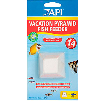 API Vacation fish feeder block 14 day time release