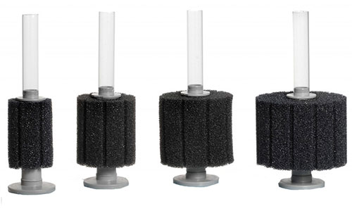ATI Hydro Pro sponge filters in different sizes