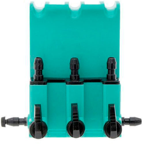 3-way gang valve for aquarium