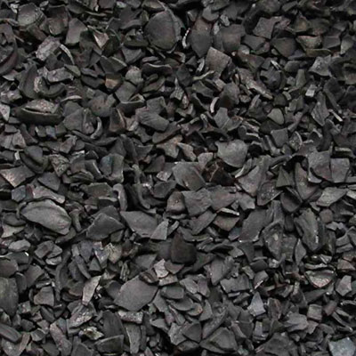 Activated carbon used in a chemical filtration system