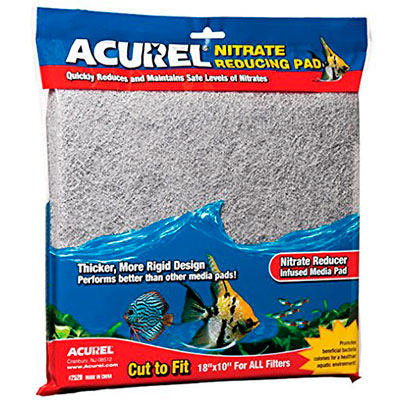 Acurel nitrate reducing filter media pad