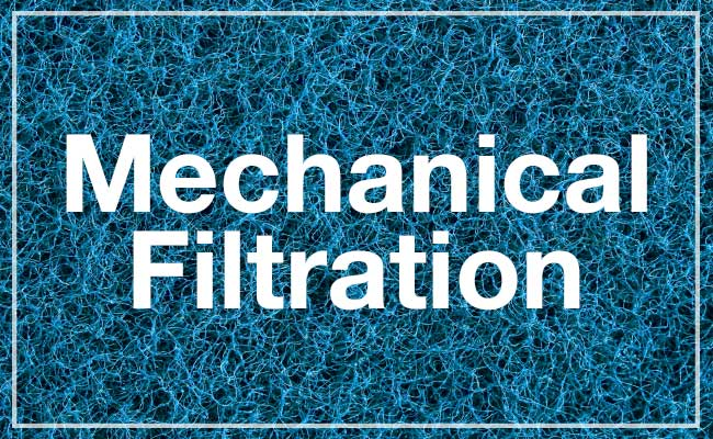 Mechanical filtration