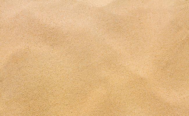 Coarse sand used as aquarium substrate
