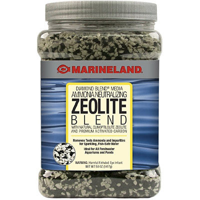 Activated carbon and zeolite filter media blend