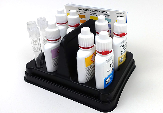 API master aquarium test kit organizer