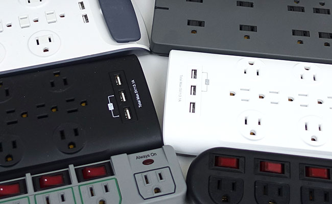 Comparing power strips to find which is best for aquarium use