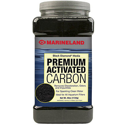 Marineland activated carbon for aquarium filters