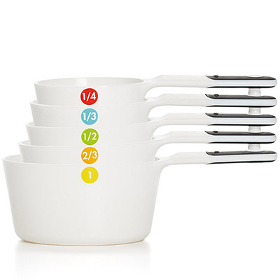 OXO good grips plastic measuring cups for aquariums