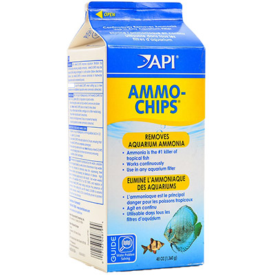 API Ammo-Chips ammonia-removing filter media