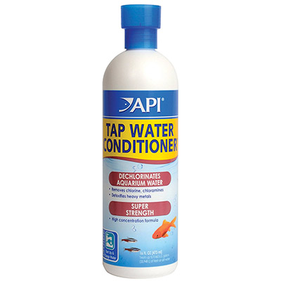 API tap water conditioner to dechlorinate water