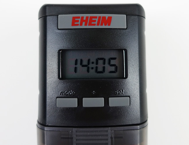 Eheim Everyday Automatic Fish Feeder programmable controller timer buttons