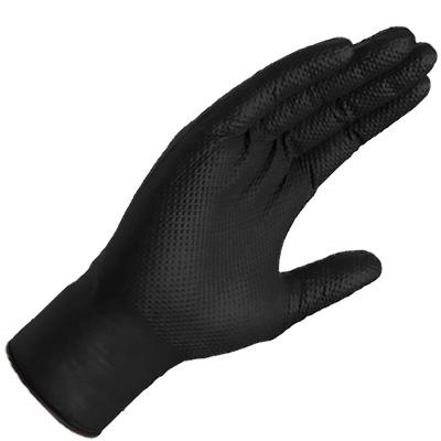 Ammex Gloveworks thin textured nitrile disposable aquarium gloves