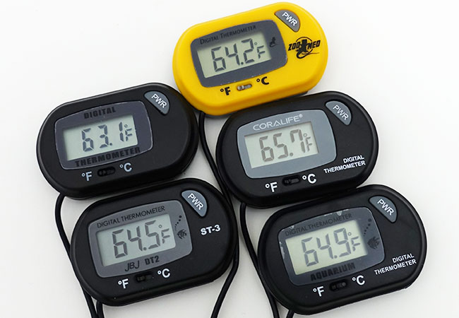 4 best and most accurate aquarium thermometers over 40 tested