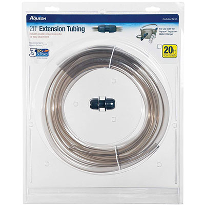 Aqueon 20-foot extension hose for aquarium water changer system