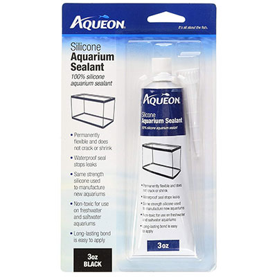 Aqueon Black Silicone Aquarium Sealant