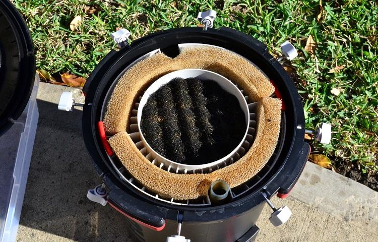 carbon change in filtar