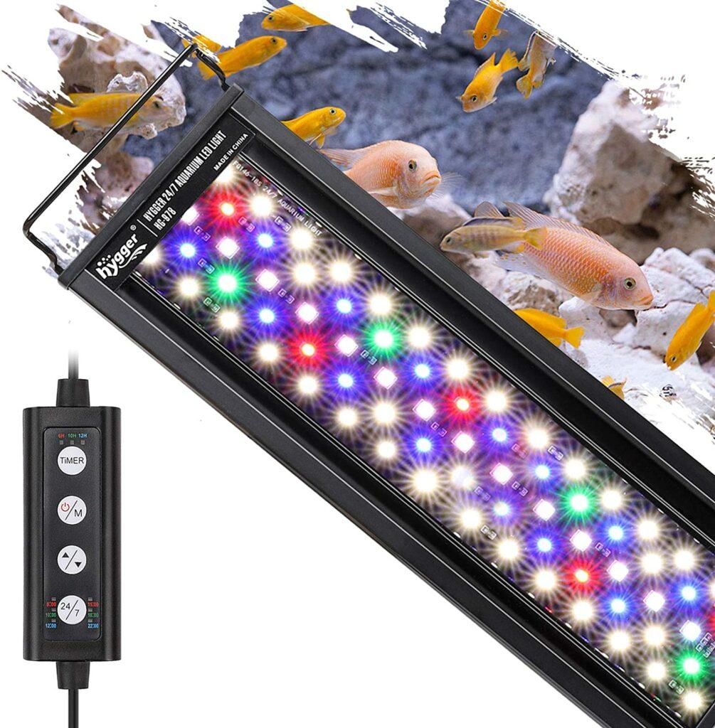 hygger 18W Lighting Aquarium LED Light